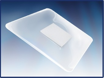 PHARMAPORE PU 10 x 10cm, plasture steril transparent cu tampon absorbant